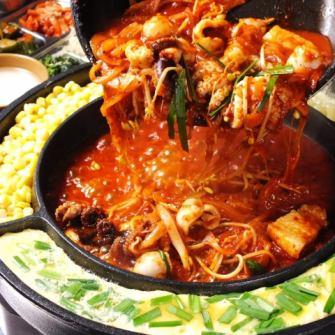 """""""辛辣的食物是不可抗拒的!""""Chukumi / 1服务1980日元(不含税)◆Ideaco丰满的质地和鲜味是Hamaru!"""