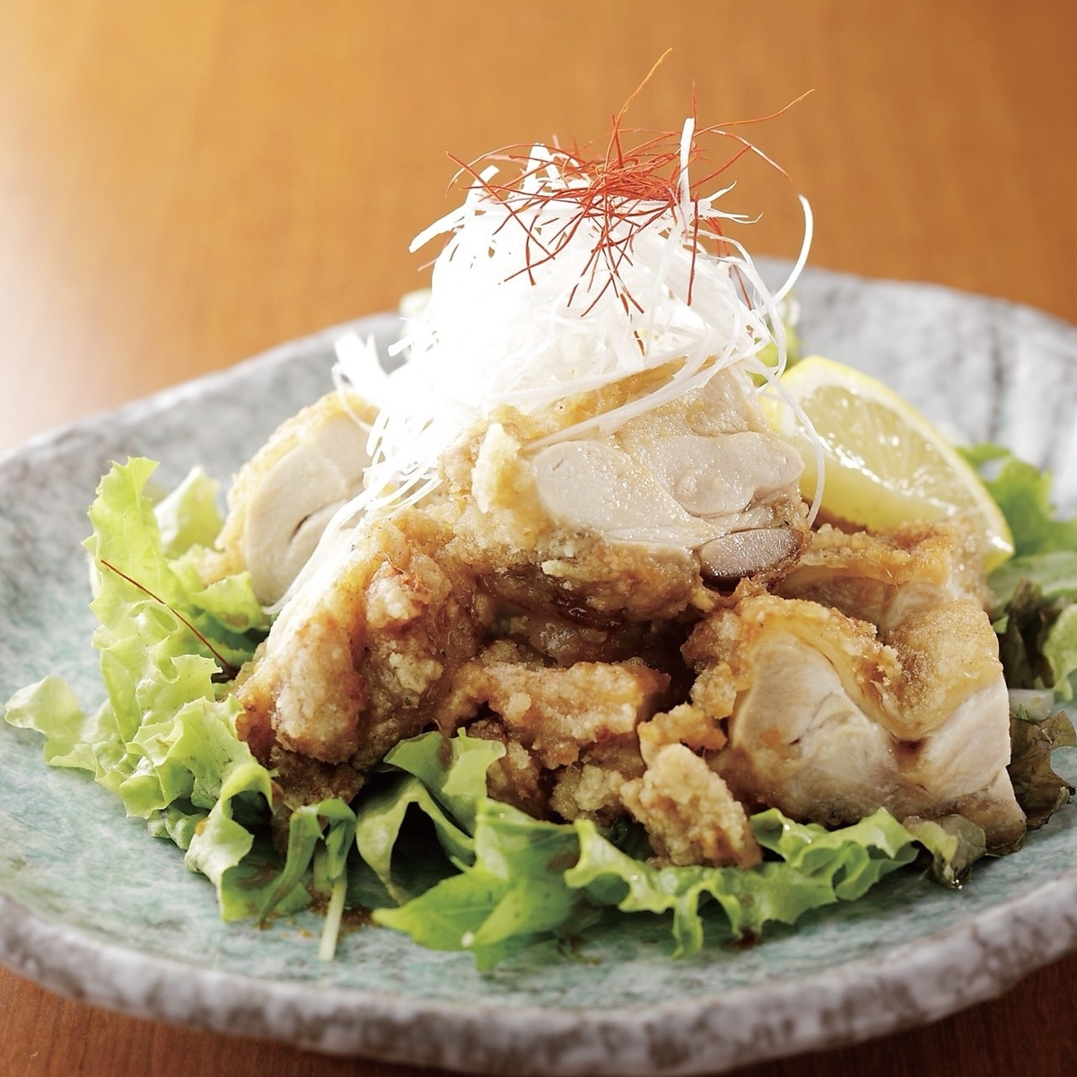 Fried chicken with Tatsuta fried flavor sauce