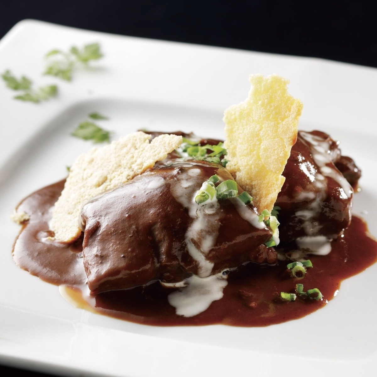 블랙 앵거스 쇠고기 조림
