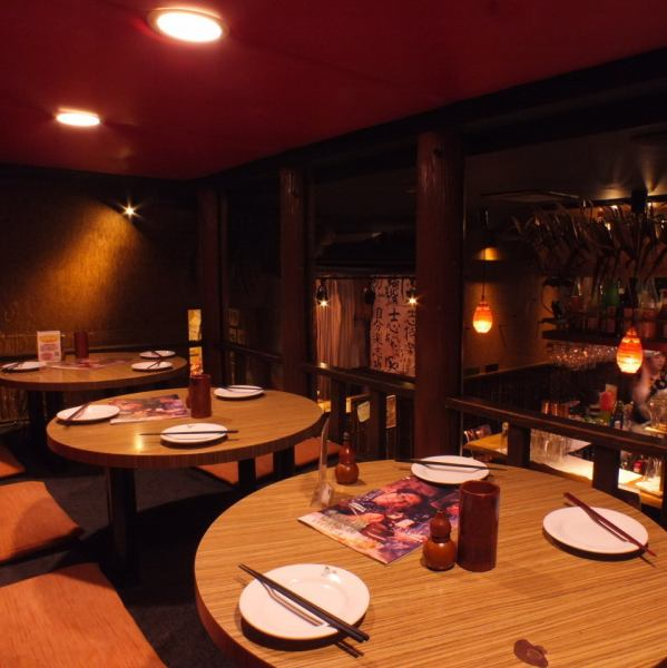 We can accommodate banquets of up to 16 people, loft seats ★ semi single room style, extend your legs and relax comfortably ♪