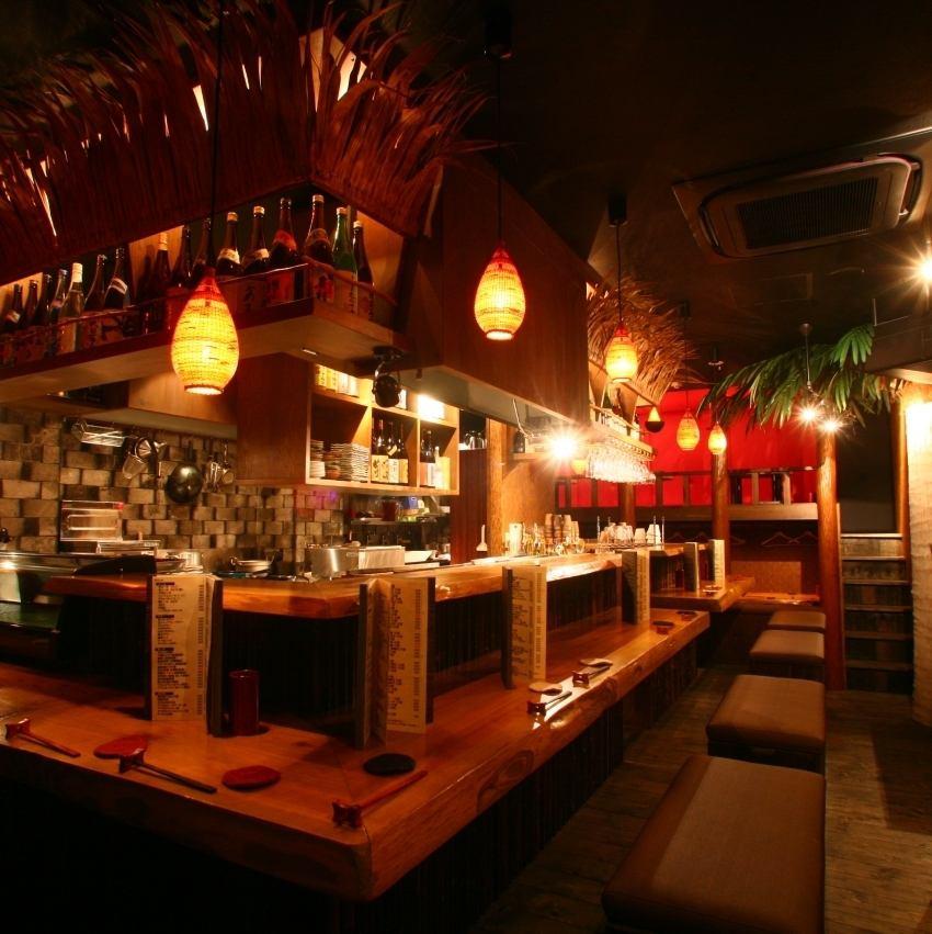 코쿠 분지의 은신처 인, 꼬치 구이의 유명한 상점.불꽃 작가의 '환대'가 고객 대인기 ♪