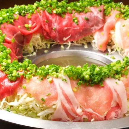 【Samurai Limited:仪式课程】樱花肉等Tataru牛排肉3小时全友畅饮2.5小时自助餐¥4200