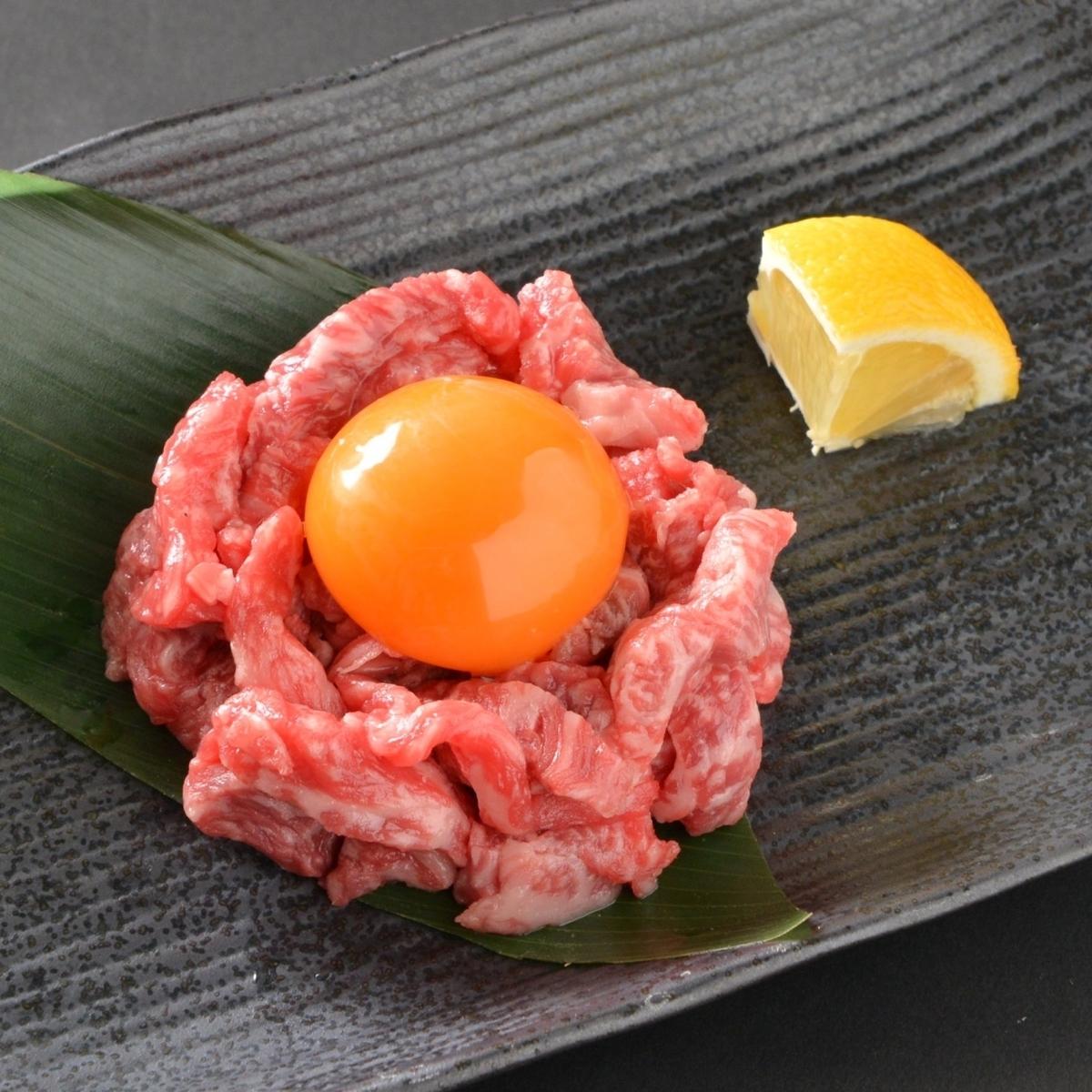Kuroge Wagyu牛肉烤Yukkei