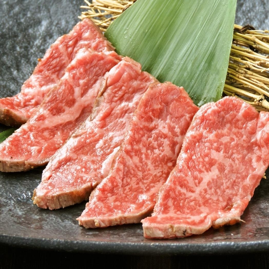 和牛赤身刺(タタキ)