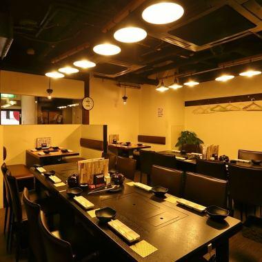 在[大宴会包机]我们的店,私人宴会也在30〜50人的预约提供。请尽快咨询。公司告别Mukaekai并且,你可以在这样忘新年度的完美条件的指南♪