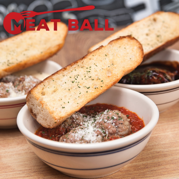 MEATBALL自製肉丸充滿了肉湯