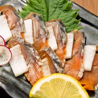 福井3大珍味!鯖のへしこ造り