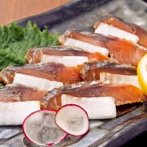 福井3大珍味!鯖のへしこ炙り
