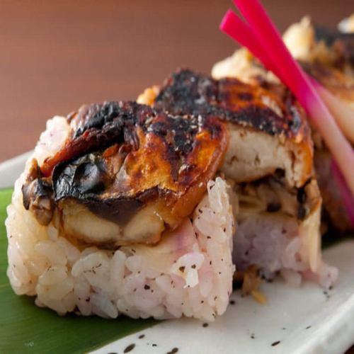 【鯖街道オリジナル】焼き鯖棒寿司