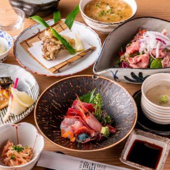 【松平特別会席コース)】◆お料理のみ◆鯖街道を贅沢に味わう 全7品 10,000円