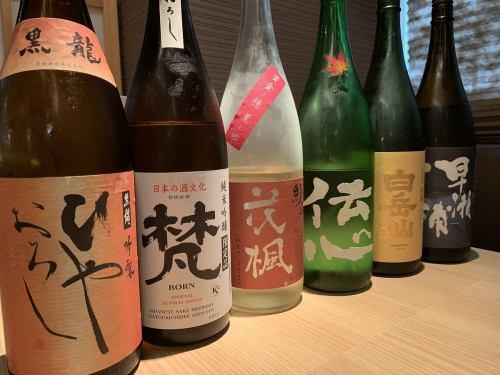 福井の地酒ひやおろし
