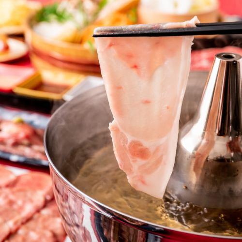 【圧倒的お得プラン】 しゃぶしゃぶ・海鮮・肉寿司など 飲み放題付きコース
