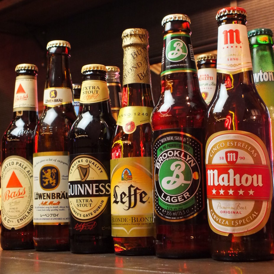 A world beer from each national team gathers at Murayama of meat 690 yen (excluding tax) ~