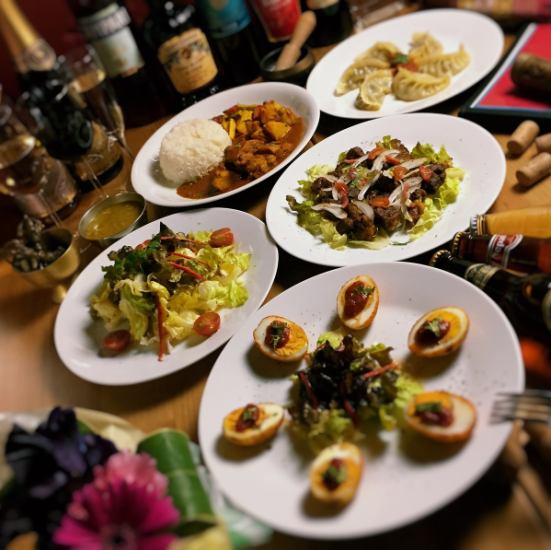 The topic of Nepalese cuisine everyone ♪ The most popular Nepalese dumplings are inevitable dish for inquiries!
