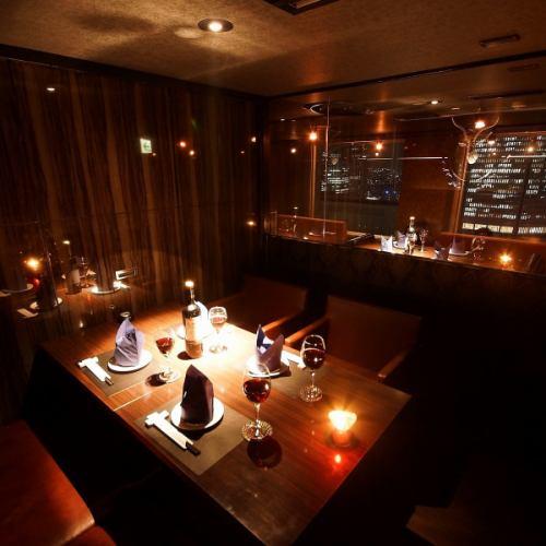 【4名様VIP個室】女子会や接待に※ルームチャージ1,000円/室