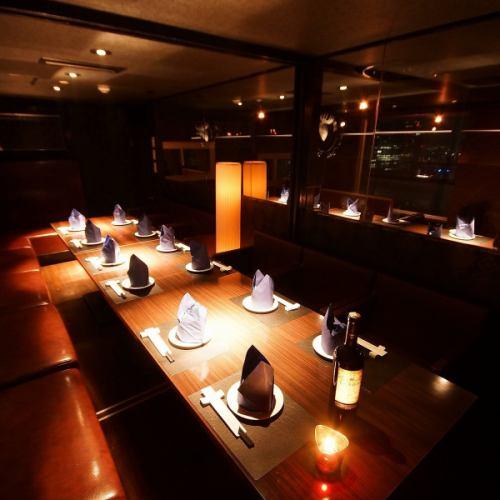 【8名様VIP個室】宴会、女子会、合コンに☆最大10名様までOK!※ルームチャージ1,000円/室