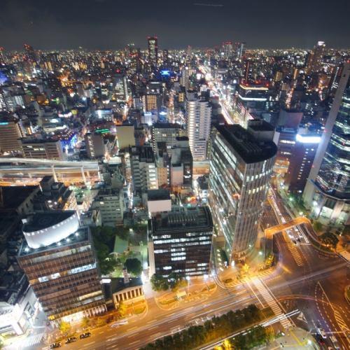 【32階】関西TOP級の夜景