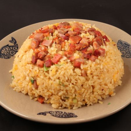 Five rice fried rice / authentic Sichuan style fried rice