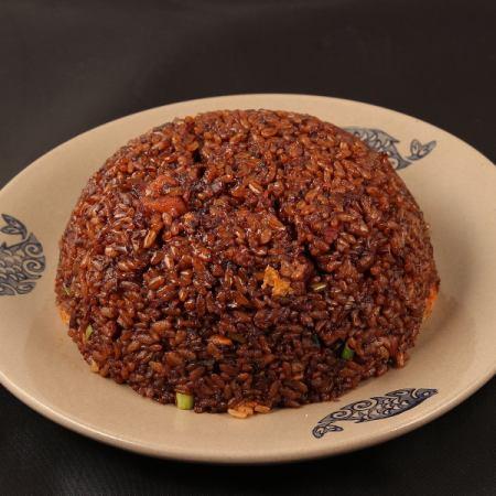 Temari soy sauce fried rice / XO soy fried rice