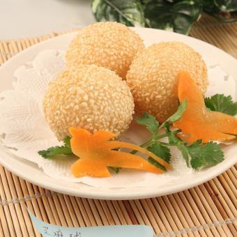 芝麻包饺子