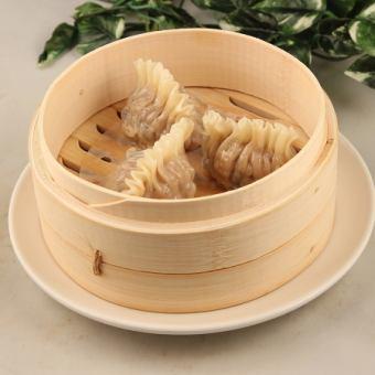 鱼翅饺子/蒸虾仁饺子