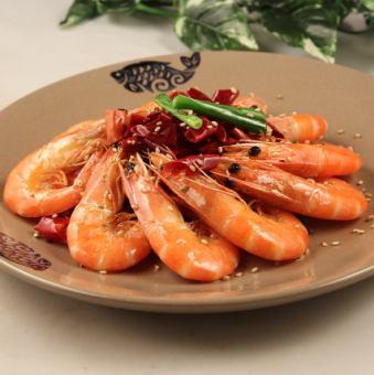 炸蝦辣椒醬