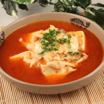Fish and tofu