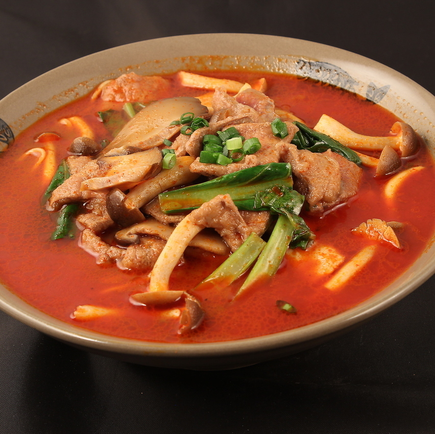 Pork lever and pork noodle noodles / Goshimen / Beef Noodle / Negi Goba / Seafood Muller Noodle / Suratan Noodle
