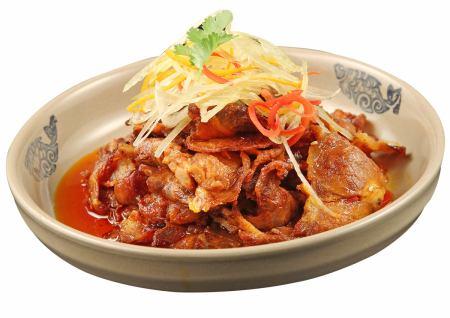Sichuan beef jerky / beef · tan · Hachinose · Hatsu special sauce Sichuan sauce