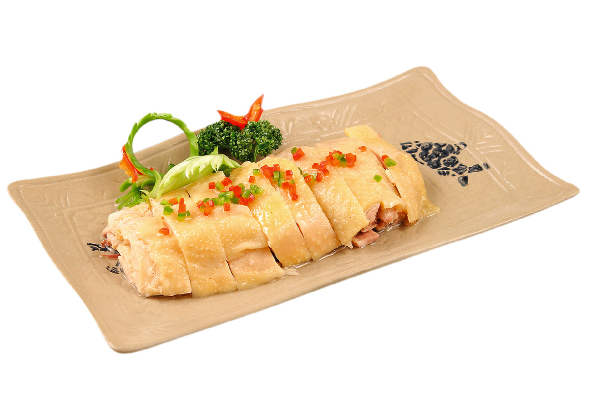 Regional salted chicken (Chengdu) / Enoki taste refreshingly