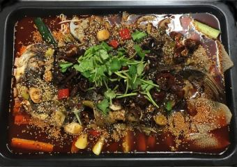 Jinshisato特殊季節魚的辣火鍋