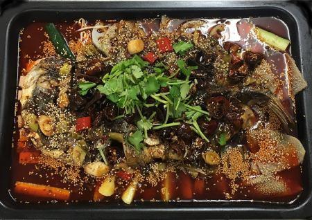 Jinshisato special season fish's spicy hotpot