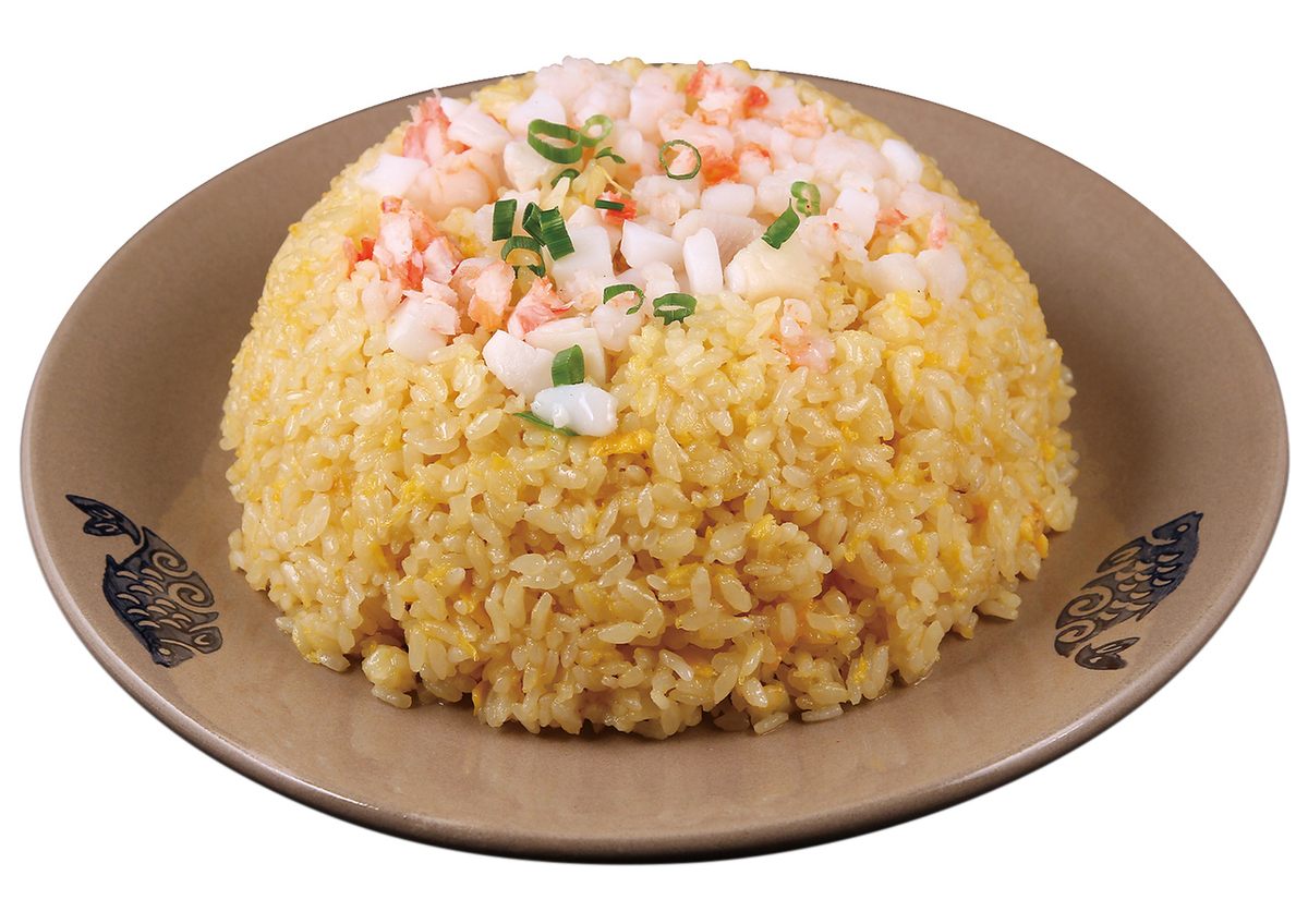 Seafood fried rice / shark's fin soup stock fried rice