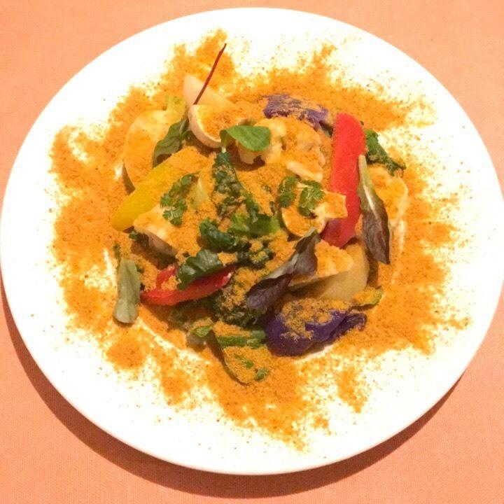焼き野菜とボッタルガの温製サラダ