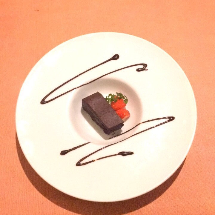 チョコレートのテリーヌ~選べるジェラート~