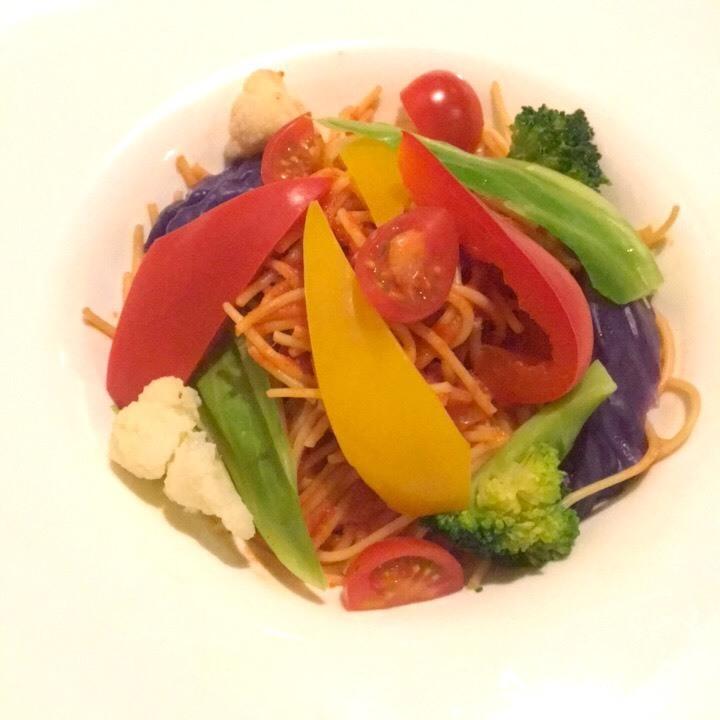いろいろ野菜のパスタ