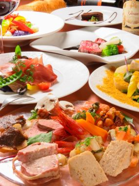 Chefs mainly made of seasonal ingredients and classic dishes Recommended party plan ☆ 120 minutes Drinking and drinking 5000 yen