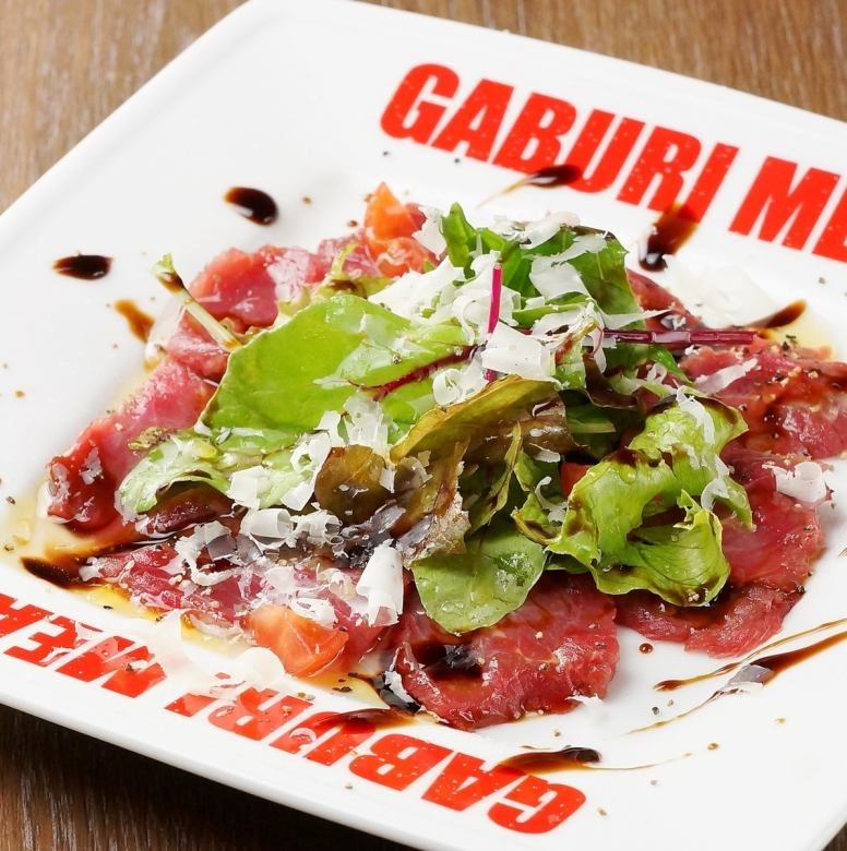 Direct shipment of Kumamoto horse meat carpaccio