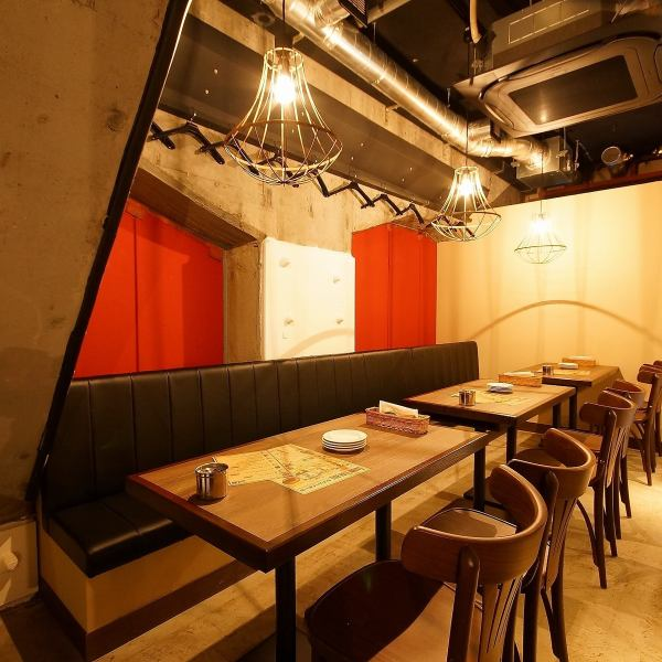 60 seats on the first floor, 20 seats on the second floor ☆ As our shop can party up to 80 people, we recommend also to various parties of the large number such as the girls' association and farewell reception party!