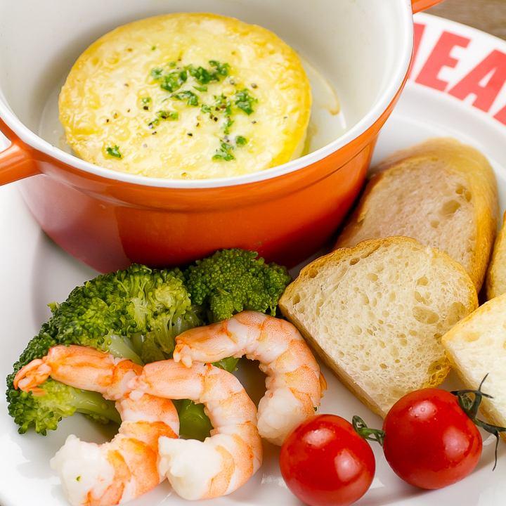 Camembert fondue style