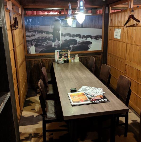 完全個室なので、記念日や県外の方は旅行の際のお食事にもご利用いただけます♪