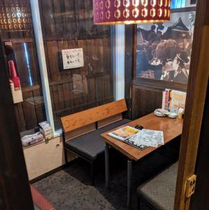 人気のテーブル個室!
