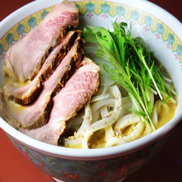 Warm Udon & Cattle Towel Toppings