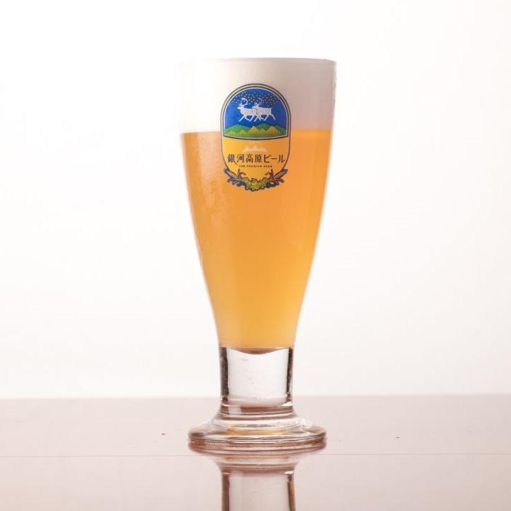 It is Taruigawa ginkgo plateau beer Weitzen.