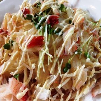 Onion salad / Additive radish salad