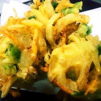 야채 굴 튀김 / 감자 튀김