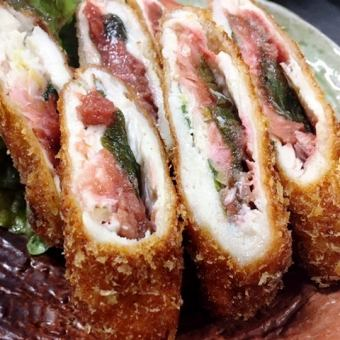 Sasami plum shoelo roll / special dishes