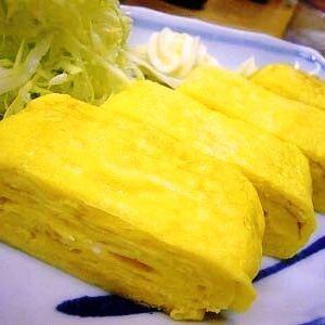Handmade egg baked