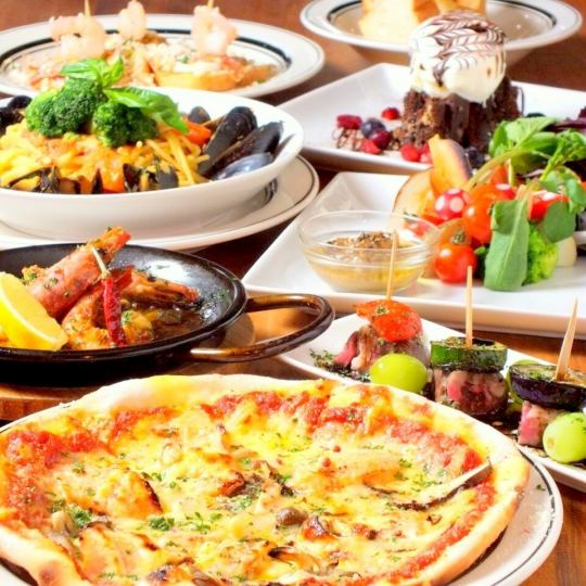 Standard course! 【All-you-can-drink for 2 hours】 All 8 items 4500 yen ⇒ 4000 yen