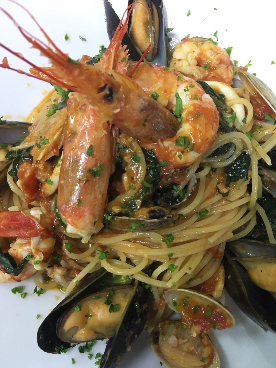 Plenty of fish and shellfish Pescatore